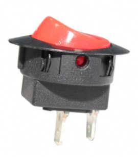 Interruptor UNIP 15A Lig/Desl Vermelho M8FT8EE2G