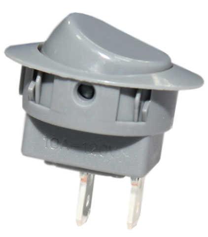 Interruptor UNIP 10A Lig/Desl Cinza M8GT8GE2B
