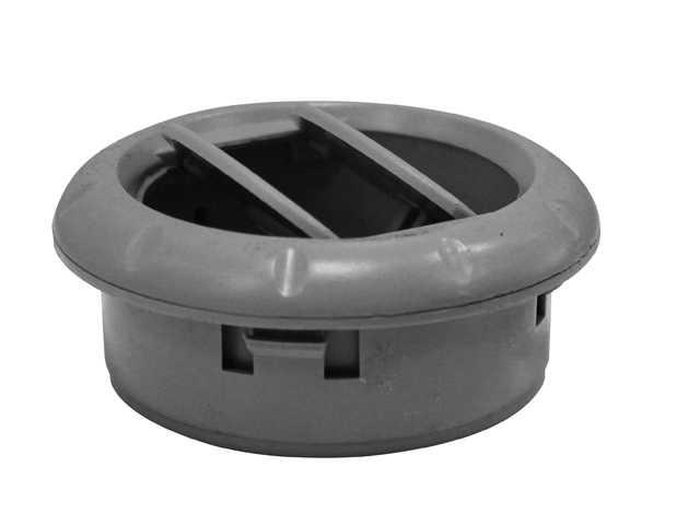 Difusor Ar Condicionado 85mm Cinza Polar s/Bocal ACR213941