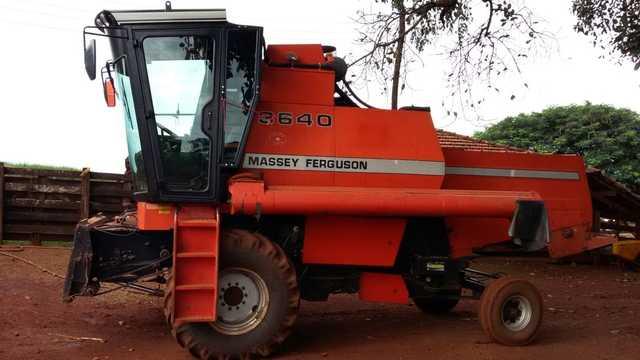 Cabina Agrícola para Colheitadeira Massey Fergusson 3640